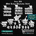 Warmaster - et pourquoi pas une armée de halflings ?