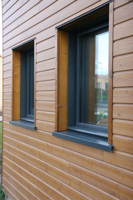 habillage des tableaux 26 03 2011 notre maison ossature bois en loire atlantique. Black Bedroom Furniture Sets. Home Design Ideas
