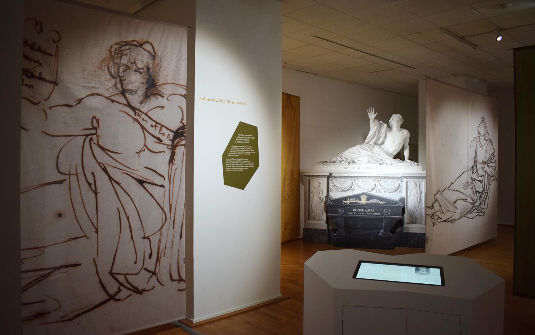 Bonchamps par David d'Angers : l'exposition est ouverte !