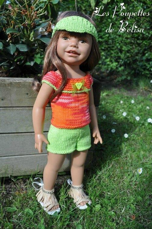 Kellie - poupée Euro Girls doll - 46 cm