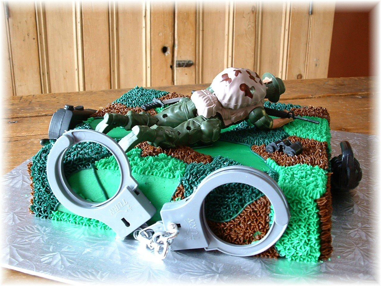 Call of duty cake 2