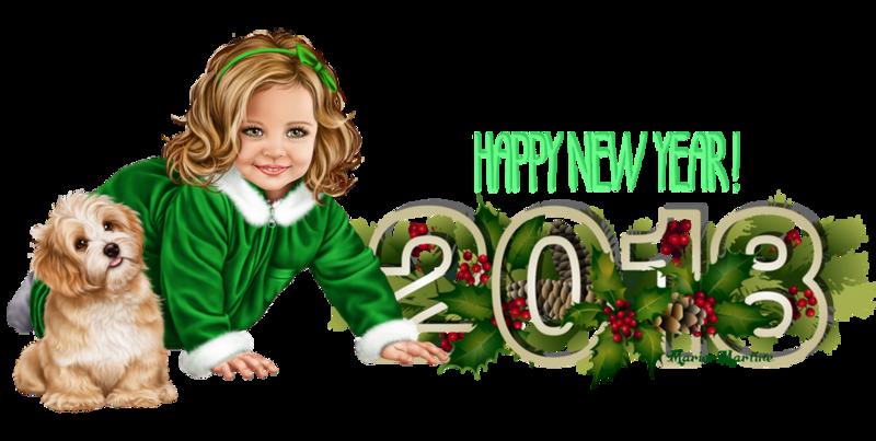 happy new year enfant