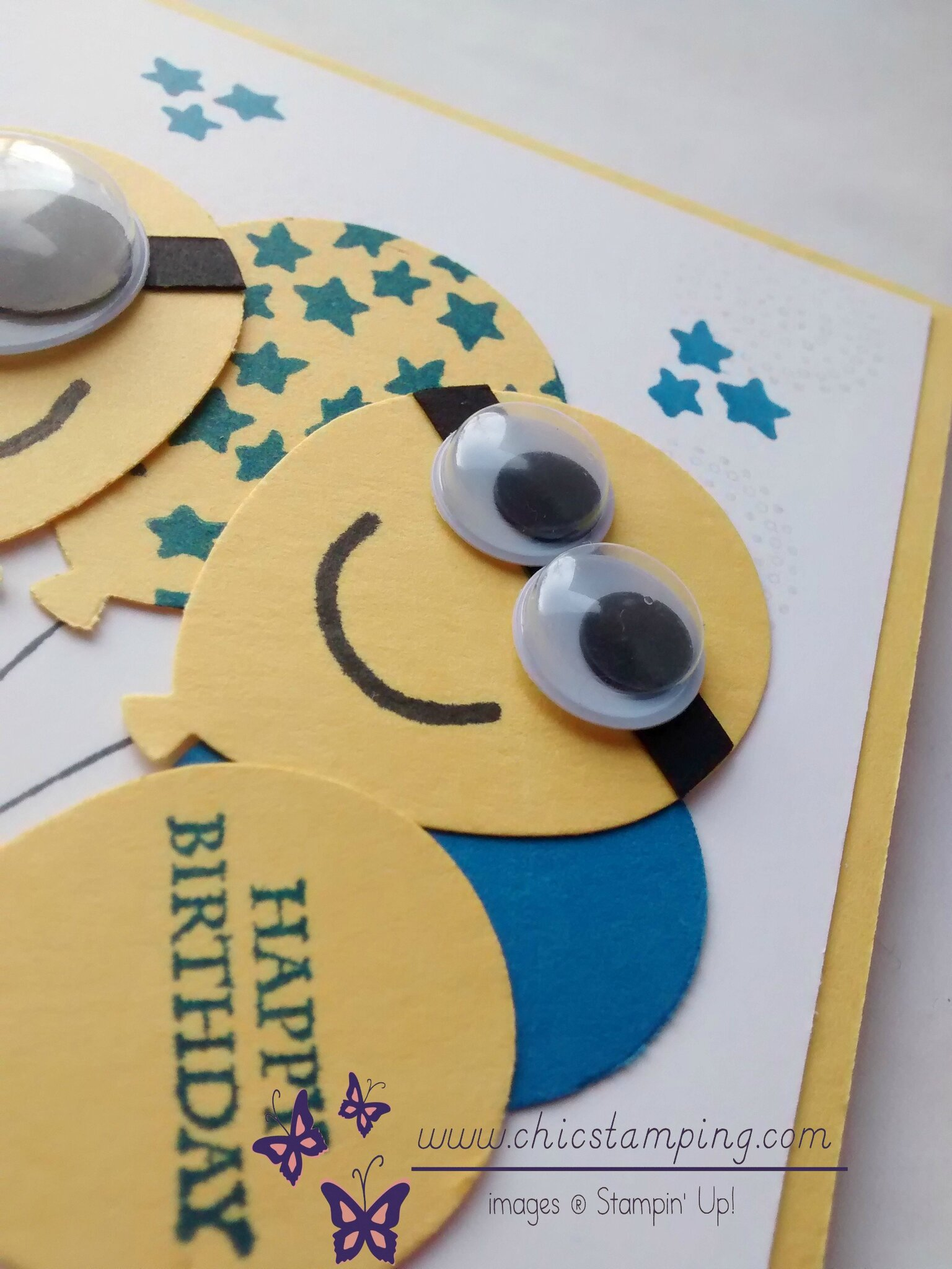 Minion happy birthday card 2