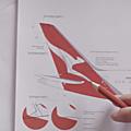 Nouveau logo, nouvelle cabine pour qantas