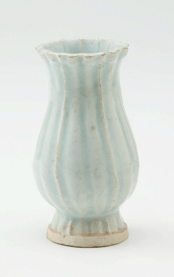 Vase, Qingbai ware, Yingqing ware, China, Song dynasty (960 - 1279), Jingdezhen ware, Jiangxi Province, porcelain with 'qingbai' glaze, 6.0 cm diam. of mouth; 12.6 x 7.0 cm. Gift of Mr Sydney Cooper 1962. EC71.1962. Art Gallery of New South Wales, Sydney