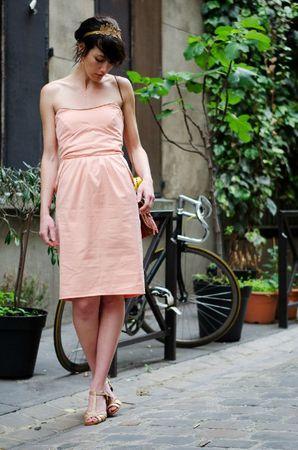 robe pêche-abricot 4