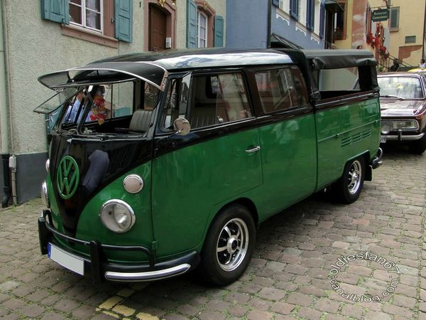 vw combi split pickup 1950 1967 3