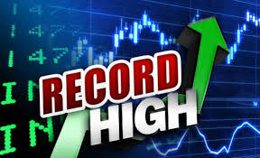 stock market record high