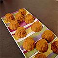 Mini-bouchées apéritives thon/olives