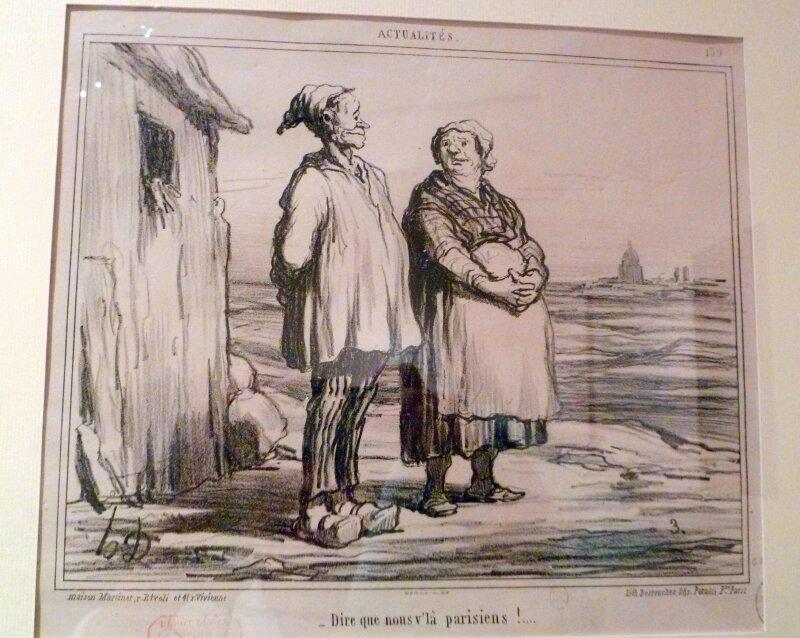 Caricature de Daumier