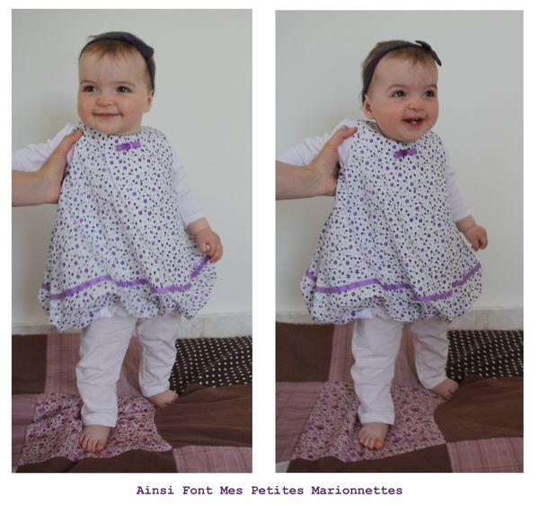 robe boule blanche et violette maelenn 8