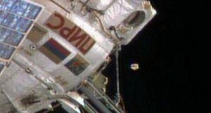 ISS - UN ASTRONAUTE FILME UN OVNI