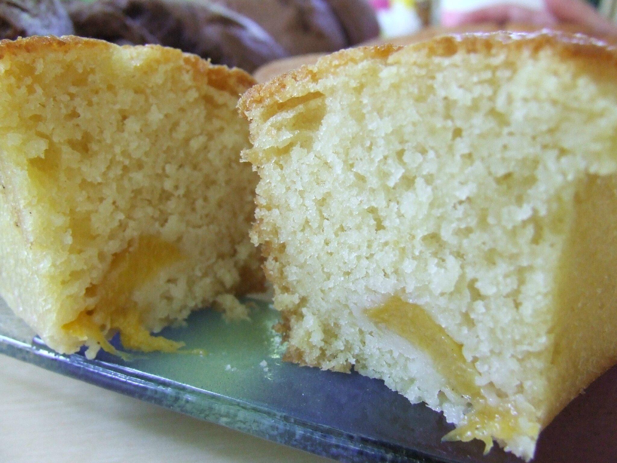 Gâteau à la pêche...