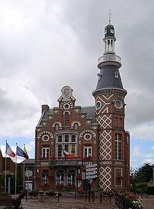 Wambrechies_hotel_de_ville