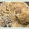 Poulet saveur orientale - cookéo