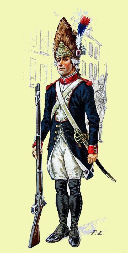 Le 5 août 1790 à Mamers : conflit entre la garde nationale et la municipalité.