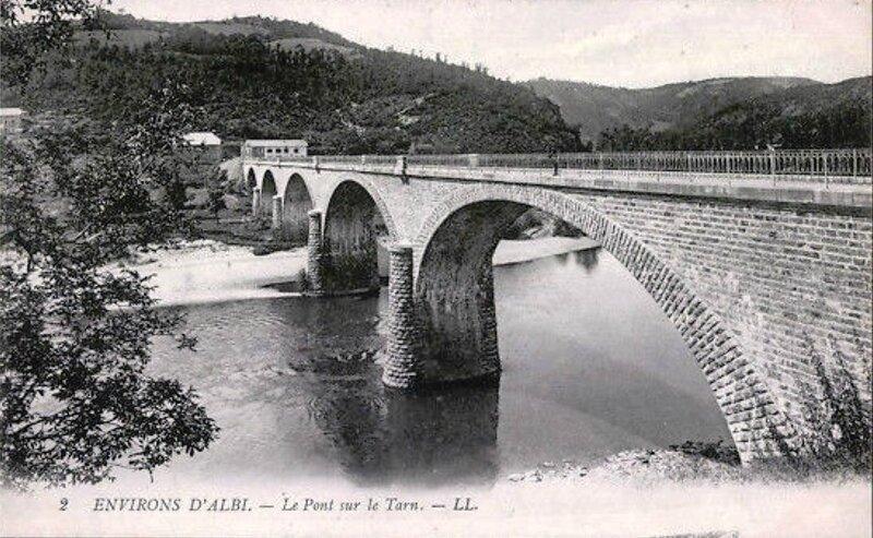 remarquable-CPA-Albi-Le-Pont-sur-le-Tarn