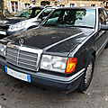Mercedes 300 d turbo w124 (1987-1989)