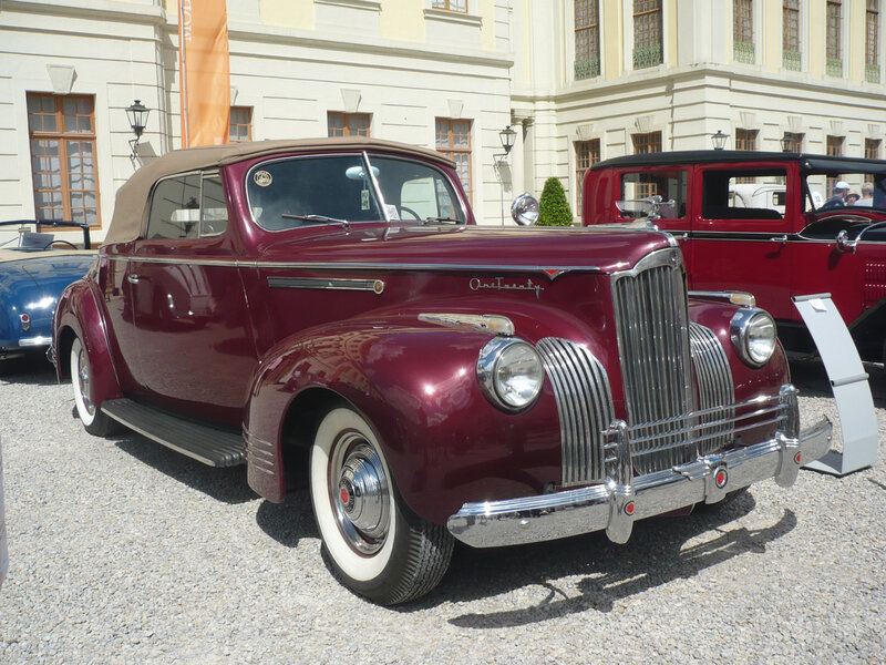 PACKARD One Twenty Deluxe 2door convertible 1941 Ludwigsburg (1)