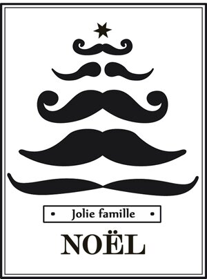 sapin moustache