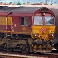 ECR, Class 66 (234), gare de Marmande