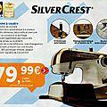 C'est reparti : nouvelle vente de machine à coudre design silvercrest ce 20 avril 2015 dans certaines régions !