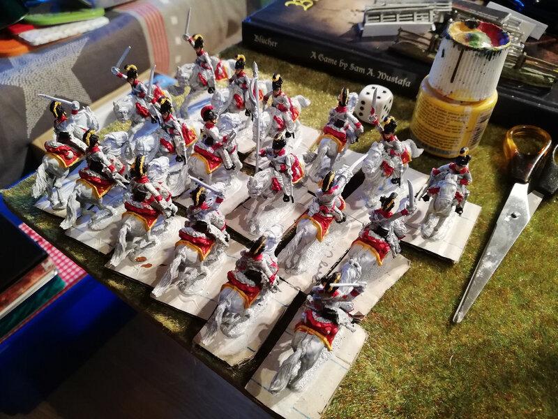 Renforts de cavalerie