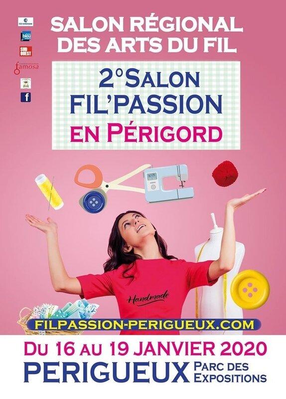 AFFICHE FIL PASSION PERIGORD