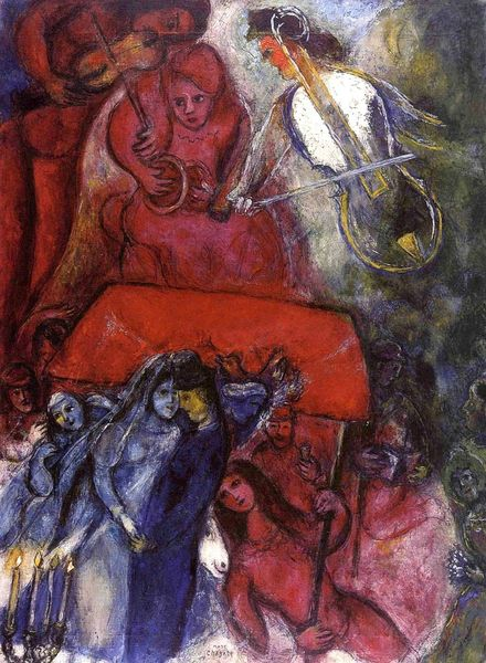 chagall Le Mariage 1944, coll, part