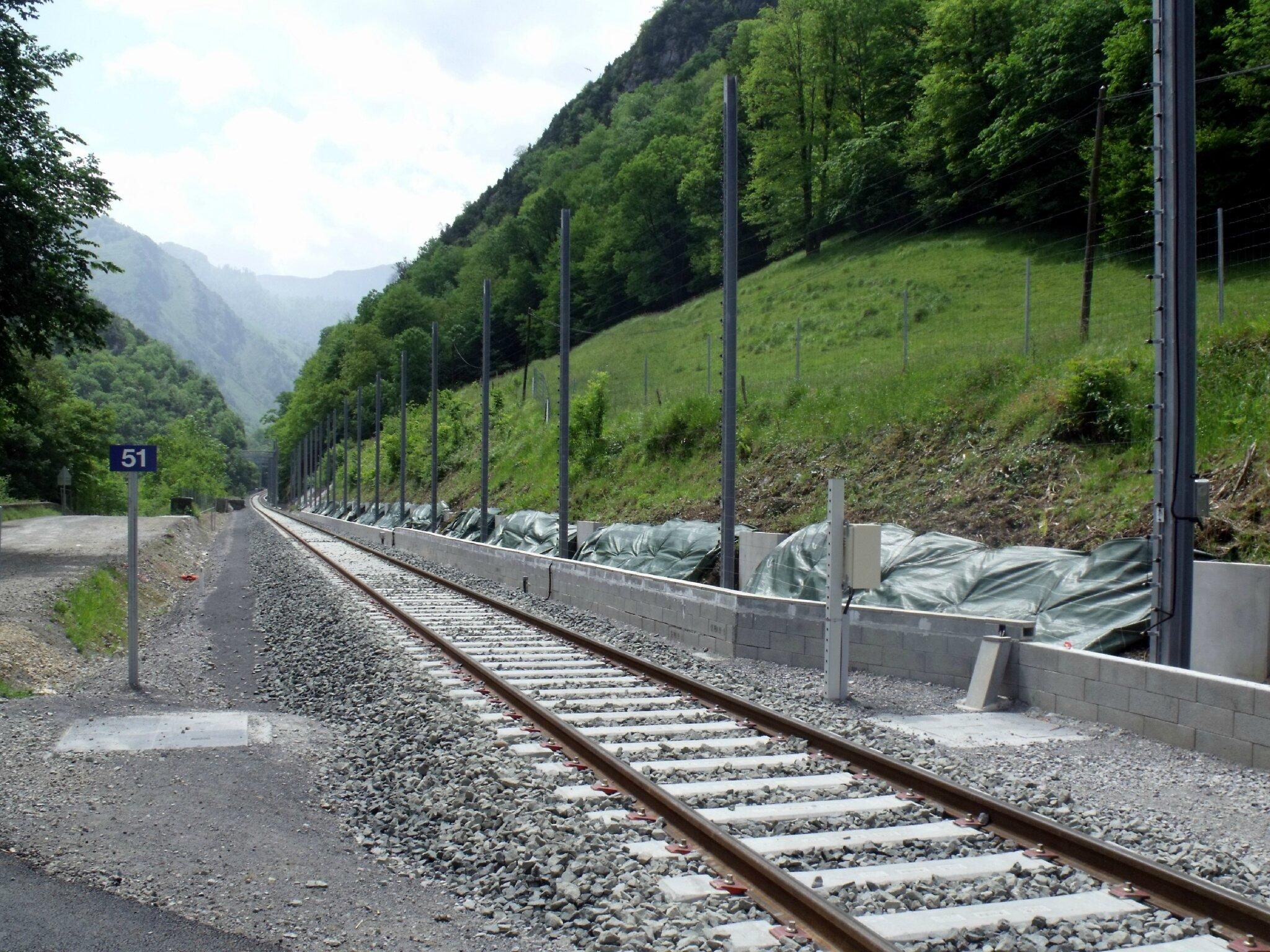 Escot (Pyrénées-Atlantiques - 64) Halte détruite