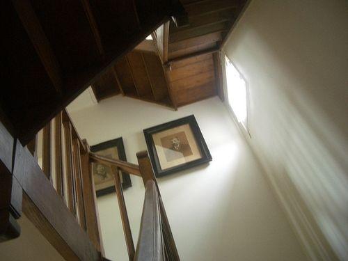 Notre escalier en chêne