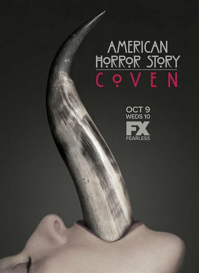 2ème Affiche AMERICAN HORROR STORY : Coven - Saison 3