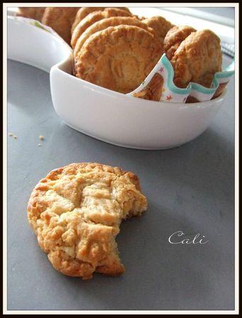 Cookies au Dulce de Leche & Chocolat Blanc 007