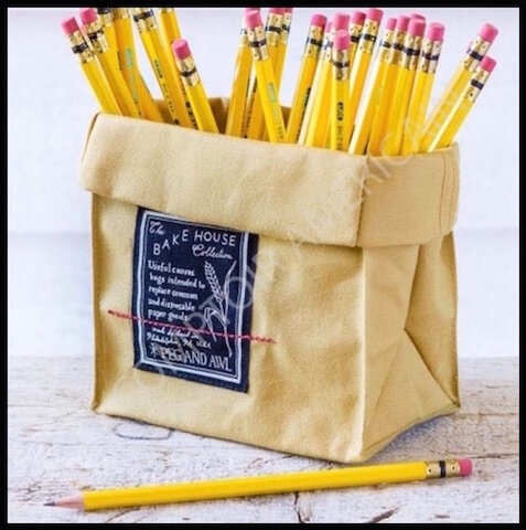 le comptoir americain sac coton kraft lunch
