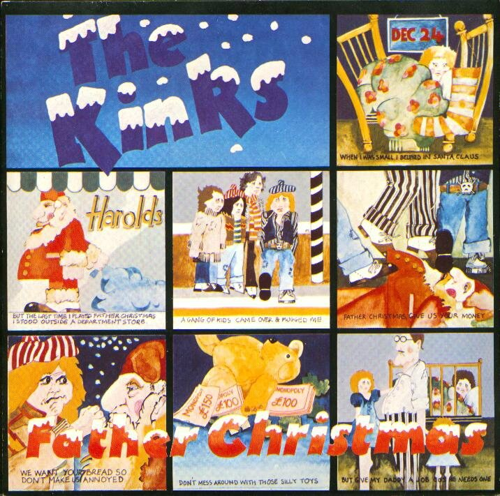 the-kinks-father-christmas-arista