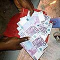 Portefeuille magique en euro