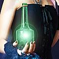 Bouteille de gin au pouvoirs infini, maître marabout suprême