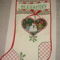 Botte Noël pour Alex
