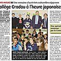 s-Article journal La Montagne semaine japonaise Oradou 20130523_01