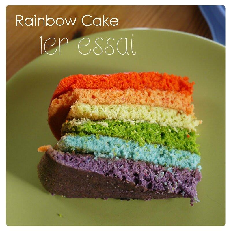 Rainbow cake 6