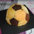 Ballon de foot au chocolat