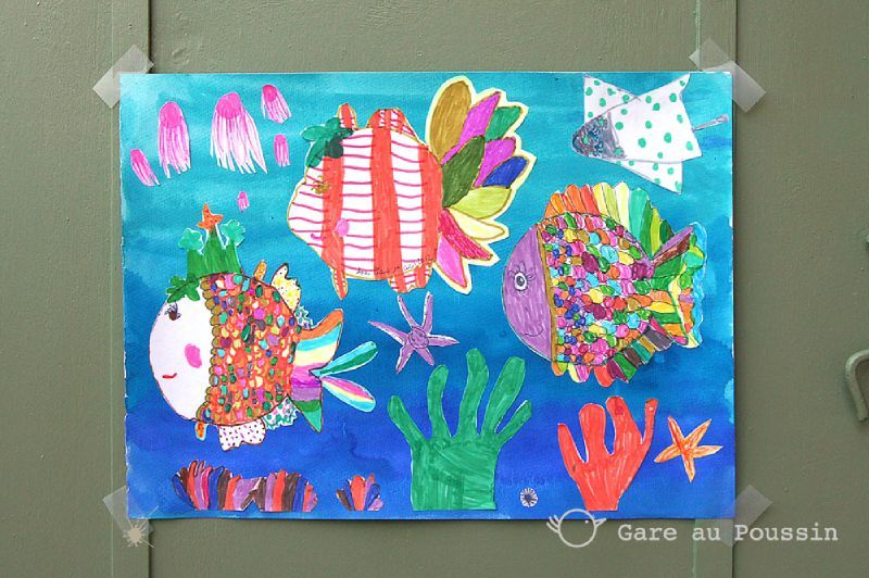 Collage poissons