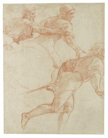 Raphaël Etude des piquiers 1515