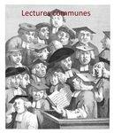 0 Lectures communes