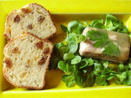cake aux figues, anis et parmesan
