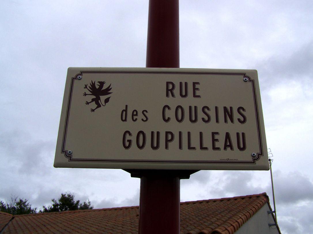 Montaigu (85), rue des Cousins Goupilleau
