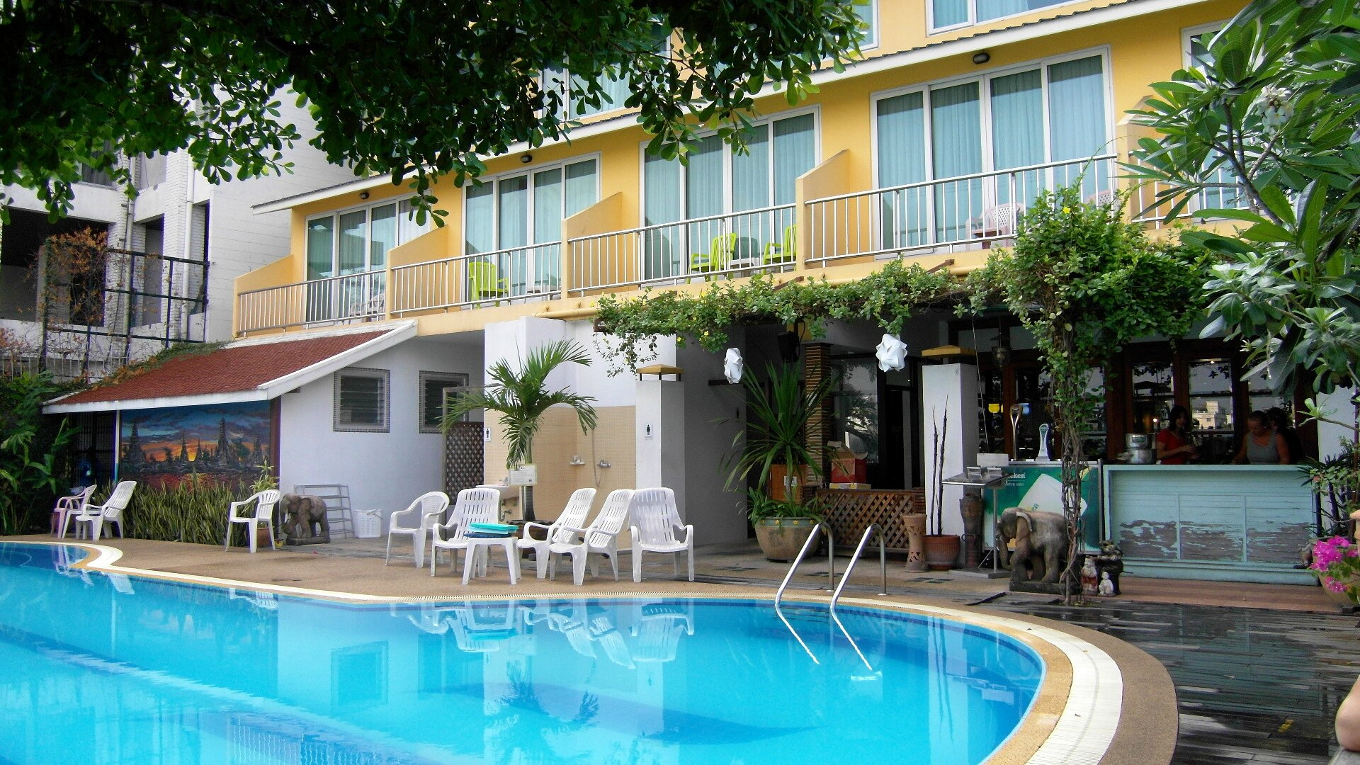 BANGKOK - New Siam piscine