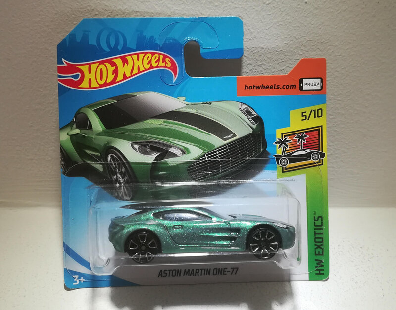 Aston Martin One-77 (Hotwheels)