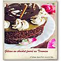 Gâteau au chocolat fourré au tiramisu et mikado©