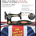 Salon du vintage 2014 - 18/10/2014 & 19/10/2014 - le carreau du temple 4 rue eugène spuller 75003 paris